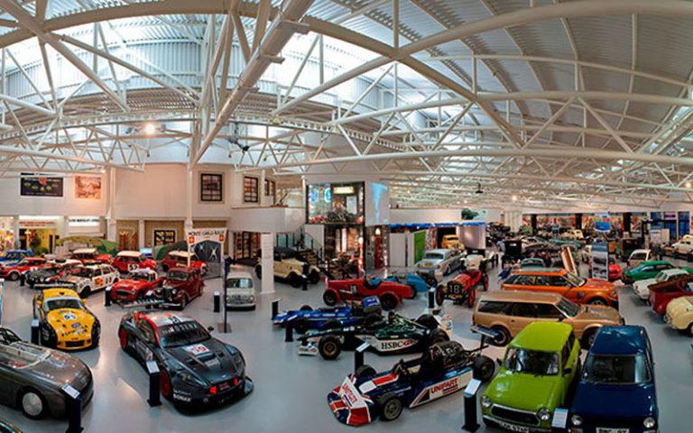 The British Motor Museum in Gaydon, Warwickshire