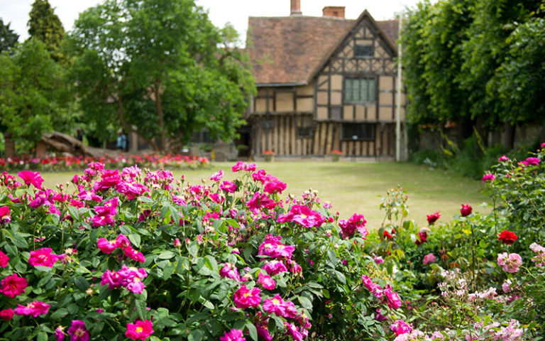 Hall's Croft Attraction in Stratford-upon-Avon, Warwickshire