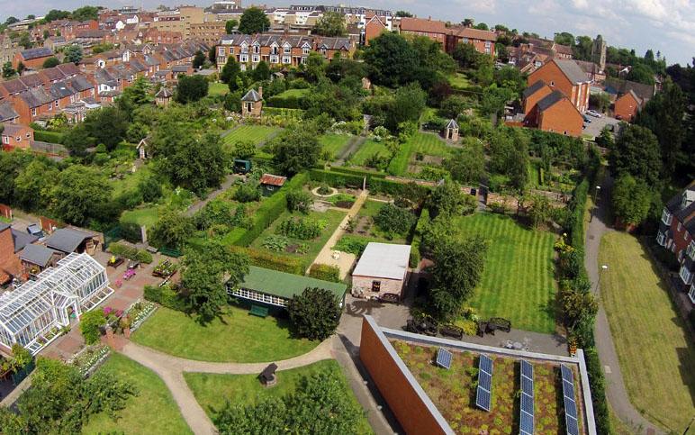 Hill Close Gardens in Warwickshire