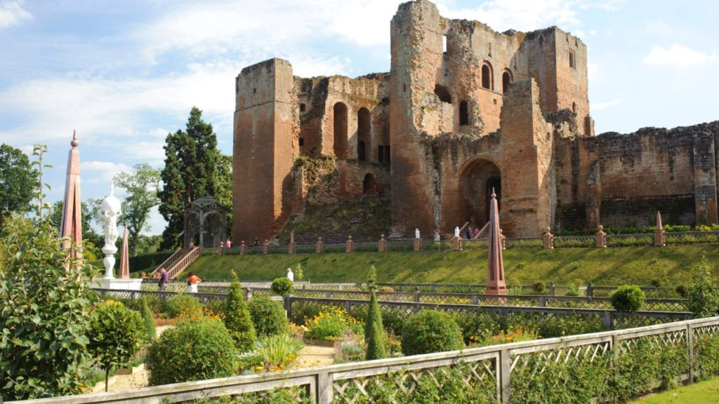 External View of Kenilworth Castle in Warwickshire