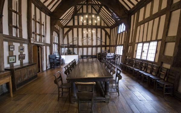 Lord Leycester Medieval Hospital in Warwick