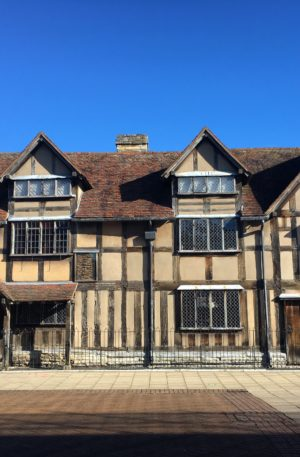 Shakespeare's Birthplace in Stratford upon Avon