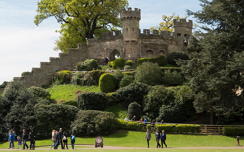 Warwick Castle - a favourite thing to do in Warwickshire