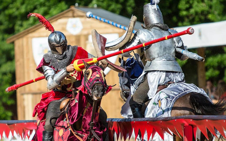 Warwick Castle - War of the Roses