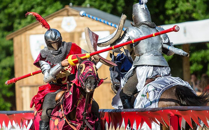 Jousting at Warwick Castle + Pre-Booking