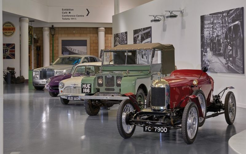 The British Motor Museum in Warwickshire