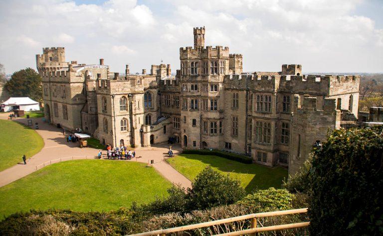 Warwick Castle in Warwickshire
