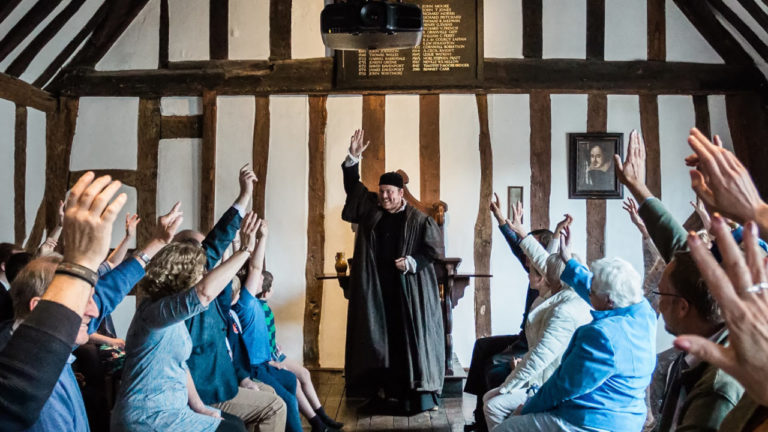 Shakespeare's Schoolroom in Warwickshire