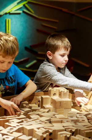 Children enjoying the MAD Museum Pre-Booking