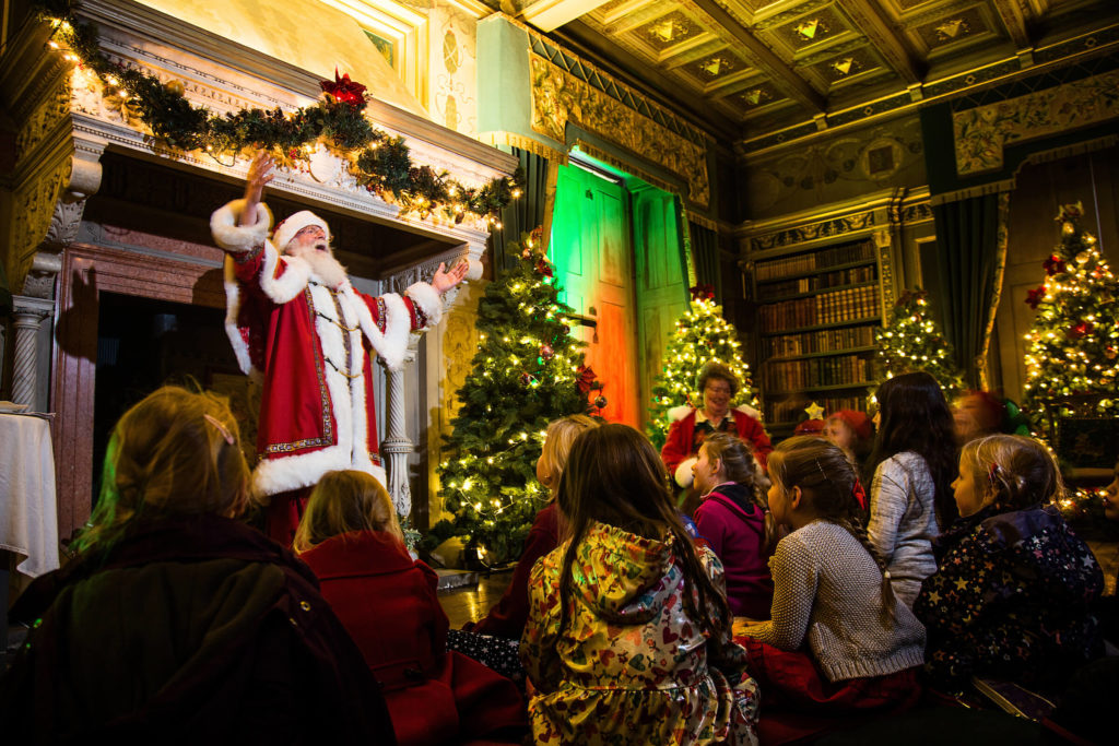 Stories with Santa at Warwick Castle