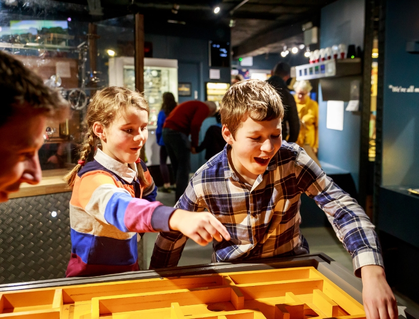 Children in the MAD Museum