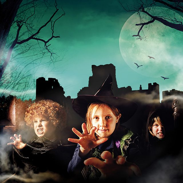 Spooky Kenilworth Castle half term Warwickshire